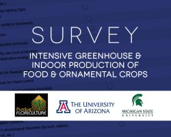 Academic Survey: Intensive Greenhouse and Indoor Production of Food and Ornamental Crops