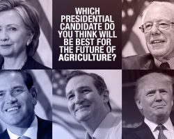 Poll: Which presidential candidate do you think will be best for the future of agriculture?