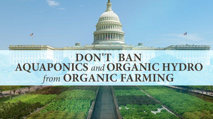 USDA: Don't Ban Aquaponics and Organic Hydro From Organic Farming