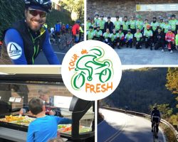 Tour de Fresh 2016 fundraising
