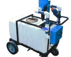 Dramm Introduces 50 Gallon, Agitating, Aerating Fertilizer Injector Cart