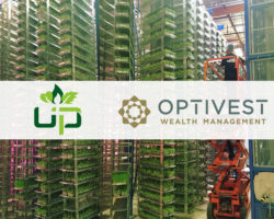 Urban Produce Prepares for International Expansion; Hires Optivest Investment Banking