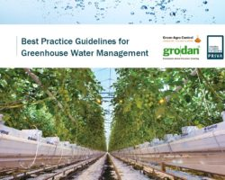 Collaborative approach results in Best Practice Guidelines for Greenhouse Water Management