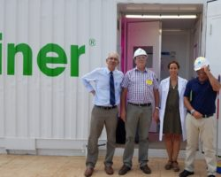 Spanish pharmaceutical giant puts Growtainer into operation