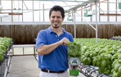 Love of Agriculture Realized in Hydroponic Greenhouse Operation at Eden Farms Inc.