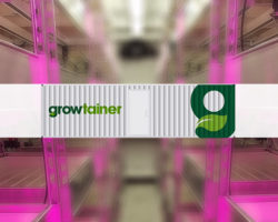 Growtainers® custom build for a US food retailer and on site production