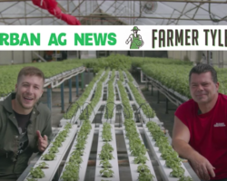 Urban Ag News talks Organic Hydroponics with Brett Elliott, farm manager at Elliott Gardens