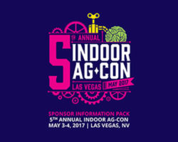 Indoor Ag-Con Returns to Las Vegas to Discuss Farm Economics and New Technology Trends in Hydroponics, Aquaponics & Aeroponics