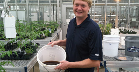 Monitoring is critical for hydroponic production systems