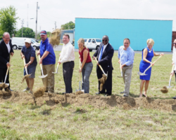 Ivy Tech and Green Sense Farms Break Ground on Earn to Learn Farm