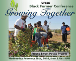 """""""Growing Together"""" Black Farmer Conference in Fresno California with Urban Leadership Panel"""