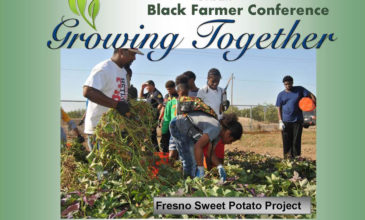 """Growing Together"" Black Farmer Conference in Fresno California with Urban Leadership Panel"